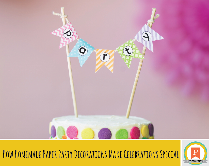 homemade paper party decorations