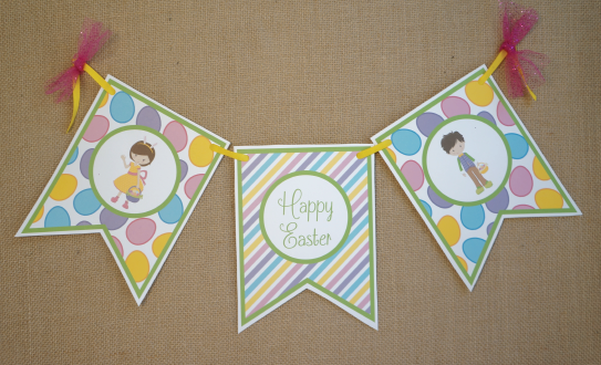 Easter Crafts Banner