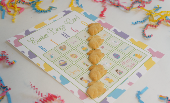 Easter Crafts Bingo