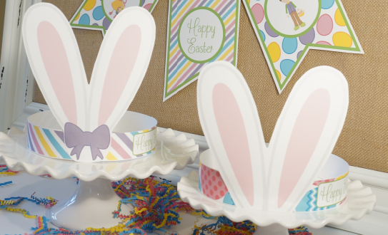 Easter Crafts Bunny Hats