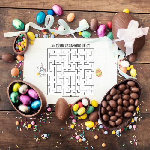 Easter Egg Hunt Maze
